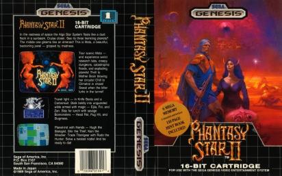 Phantasy Star 2 Box art